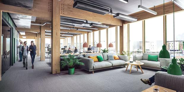 Blir Vasakronans första kontorshus i trä