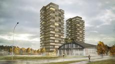 Byggstart för hyresrätter med Helsingborgs bästa utsikt