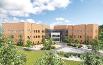 Byggstart för Skellefteås nya skola och idrottshall