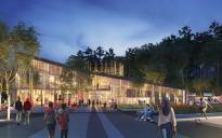 De ska bygga nya kulturhuset i Bergsjön