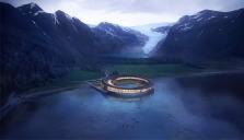 Ett av världens miljövänligaste lyxhotell byggs