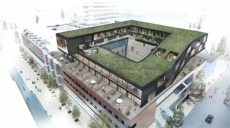 Exklusiva bostäder på gallerians tak