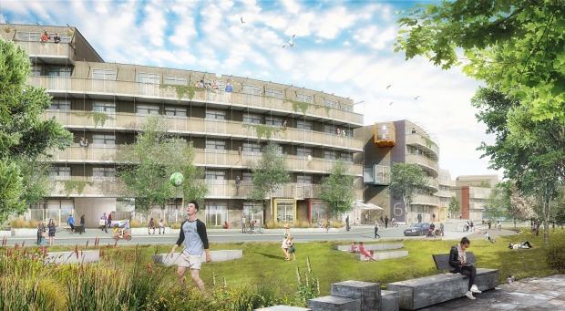 Grönt ljus för 800 temporära bostäder