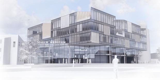 Ny byggnad för forskning och utbildning i Lund