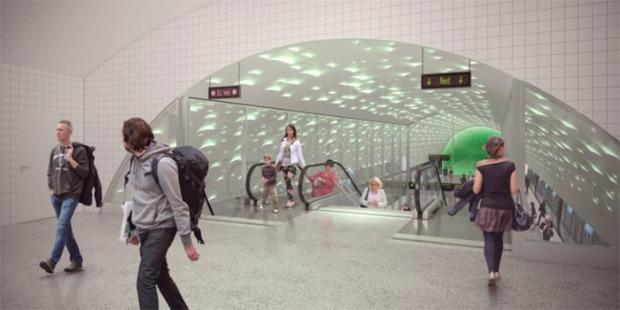 Nya tunnelbanan projekteras utan ritningar